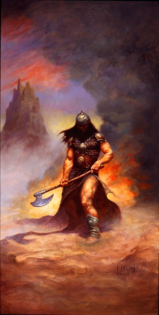 The Axe by Charles Keegan